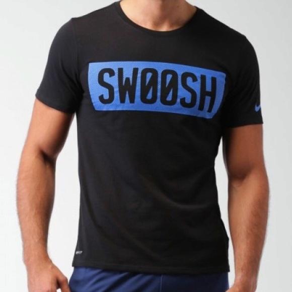 252a102d2 Nike Shirts | Dri Fit Swoosh Block Tee T Shirt | Poshmark